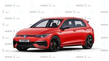 2020 vw golf gti render
