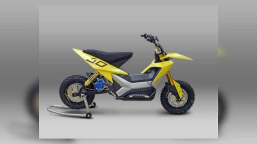 Stratos Motocross Moped Electric Concept Bike