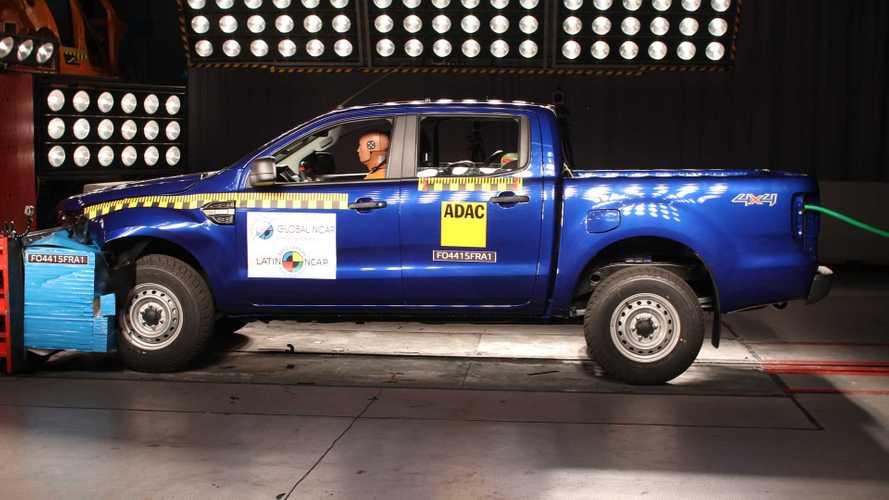 Latin NCAP: Ford Ranger 2020