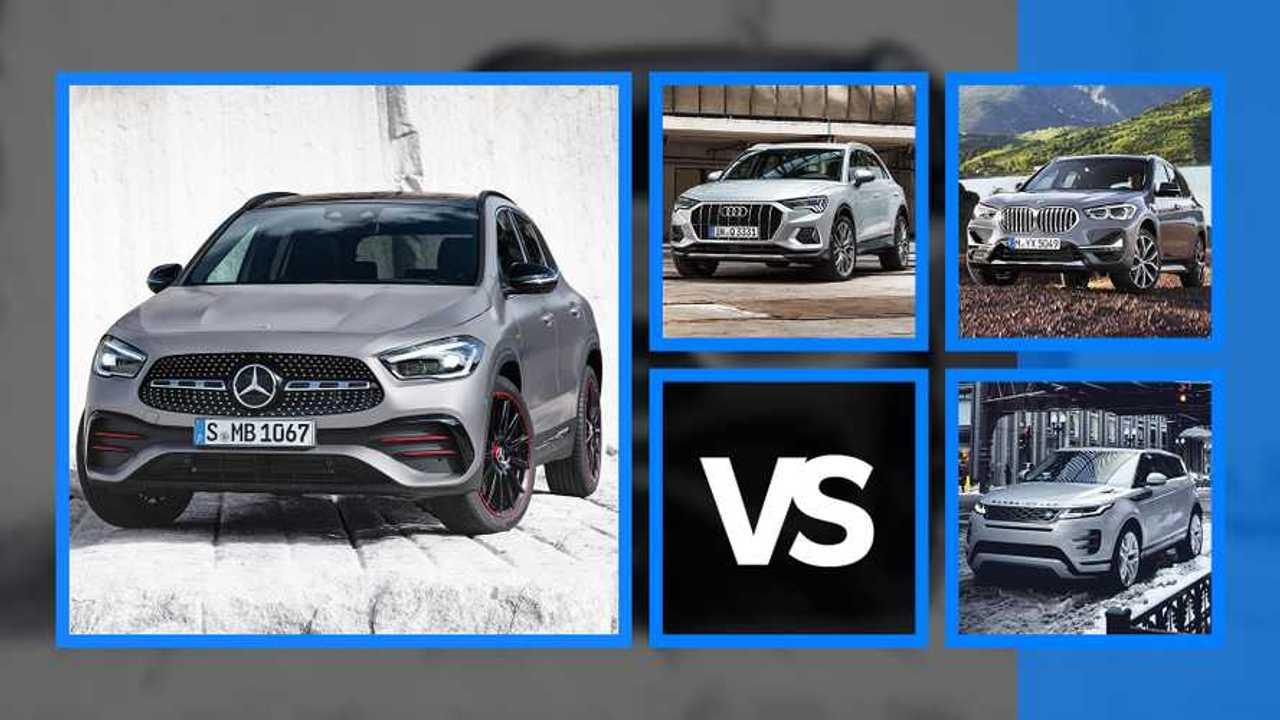 Nuova Mercedes GLA a confronto con le rivali