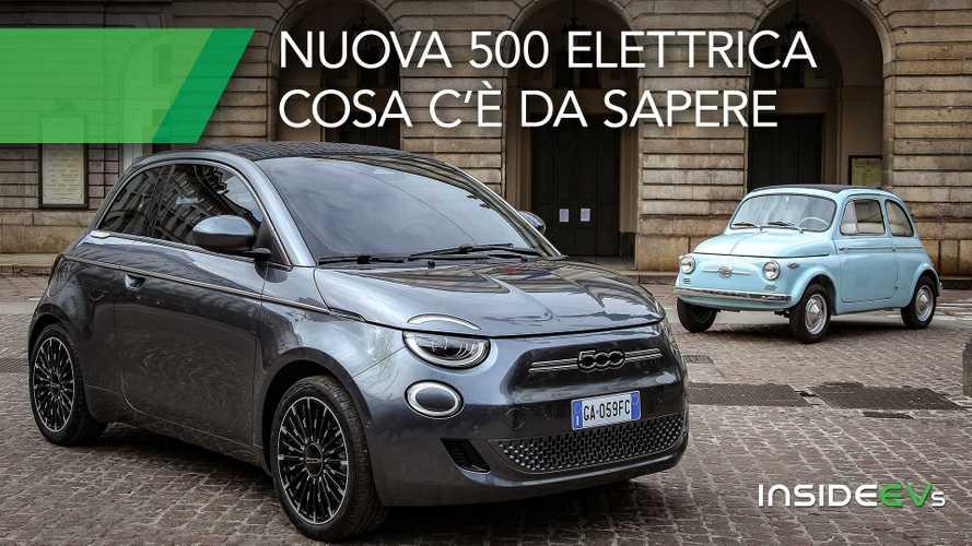 Nuova Fiat 500 elettrica: tutti i dati su batteria, autonomia e ricarica