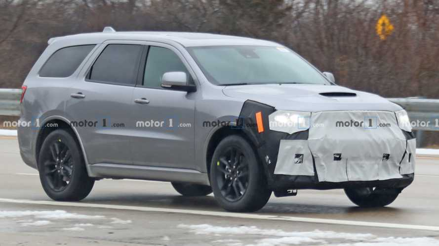 Refreshed Dodge Durango Spied Trying To Cover Updated Face