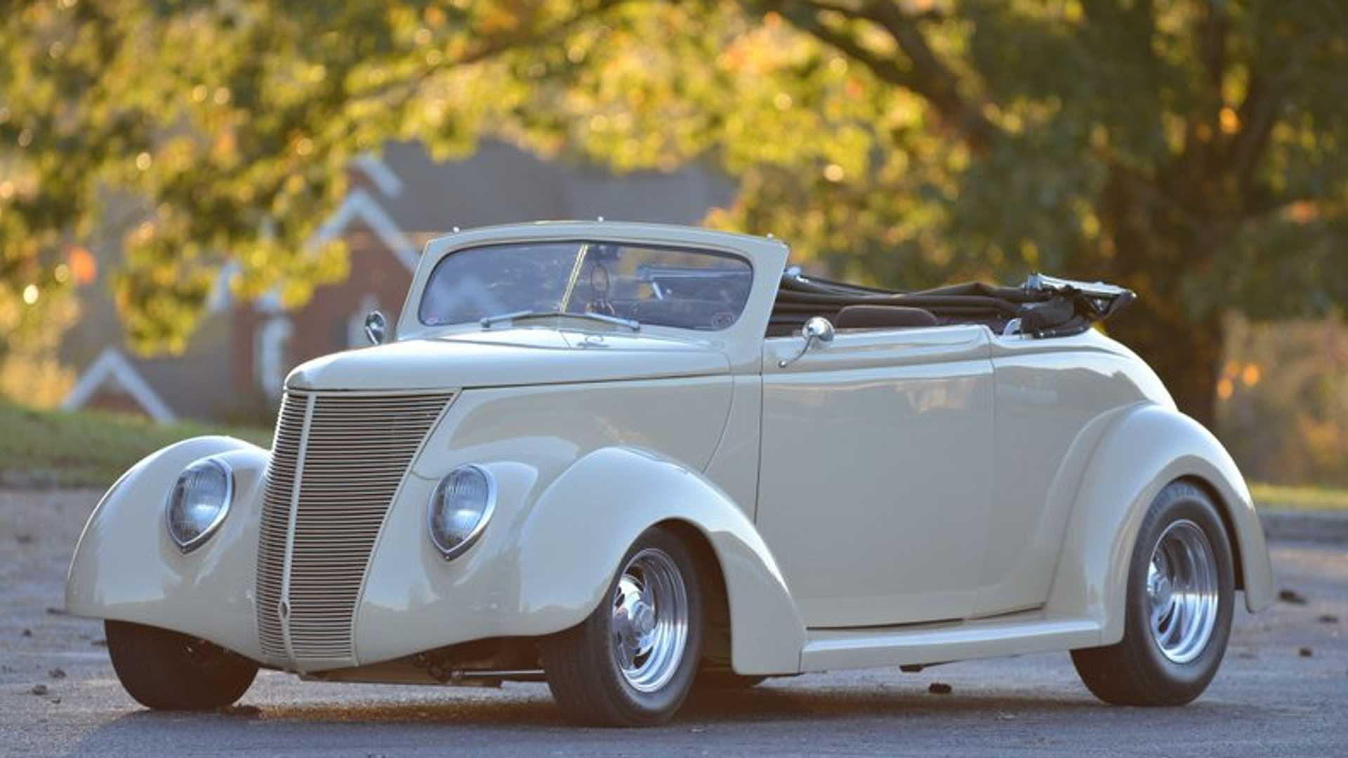 Rock On In A 1937 Ford Street Rod Convertible Motorious
