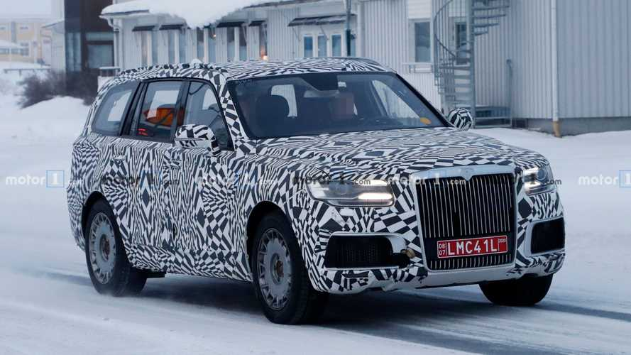 Aurus Komendant Spied As Russia Prepares To Build Its Own Cullinan