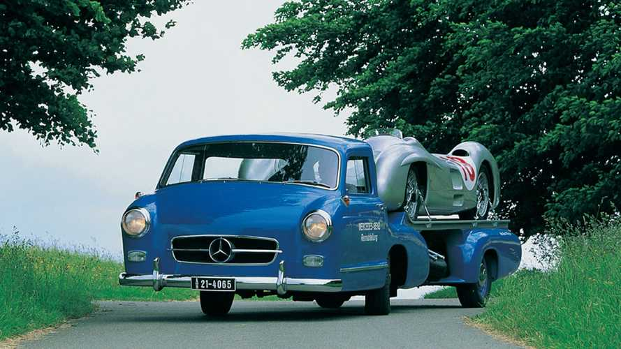 Mercedes-Benz Renntransporter, el mítico 'Milagro Azul'