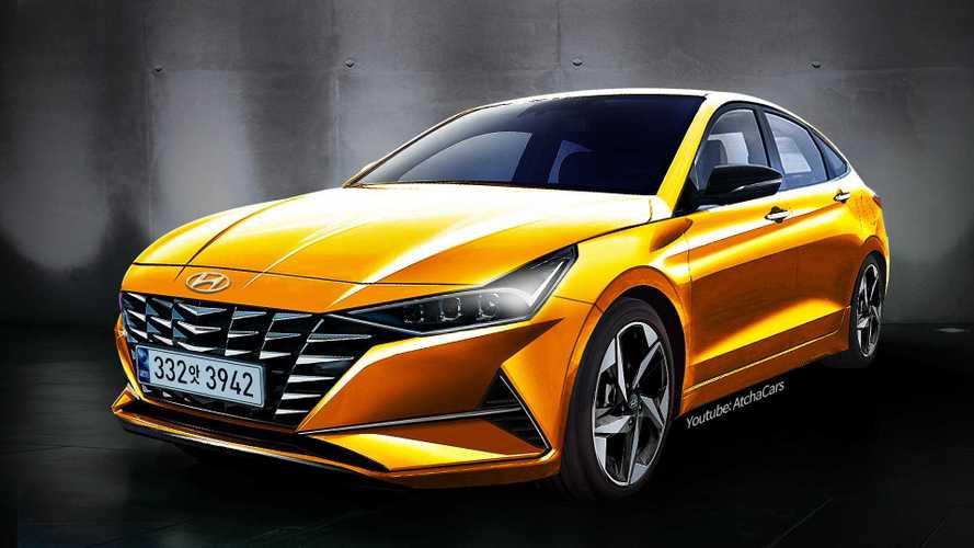 Yeni jenerasyon Hyundai Elantra böyle görünebilir