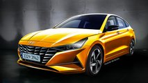 Yeni Jenerasyon Hyundai Elantra Hayali Tasarımı (Render)