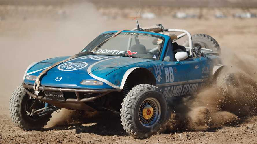 Wild Mazda Miata Is The Unlikely Off-Road Hero You Always Wanted