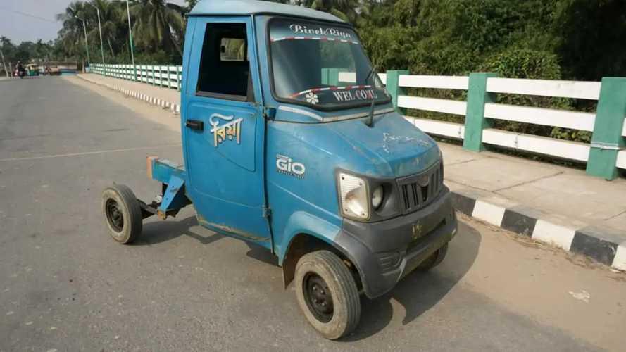 Mahindra Gio Defies Tesla Cybertruck With Cheap EV Conversion