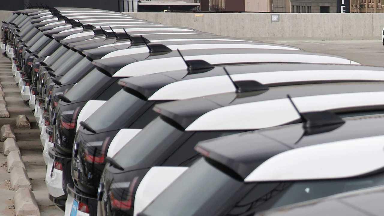Una flotta di BMW i3