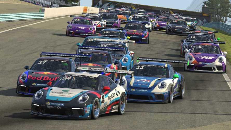 A Porsche Szuperkupa is csatlakozik a virtuális világhoz