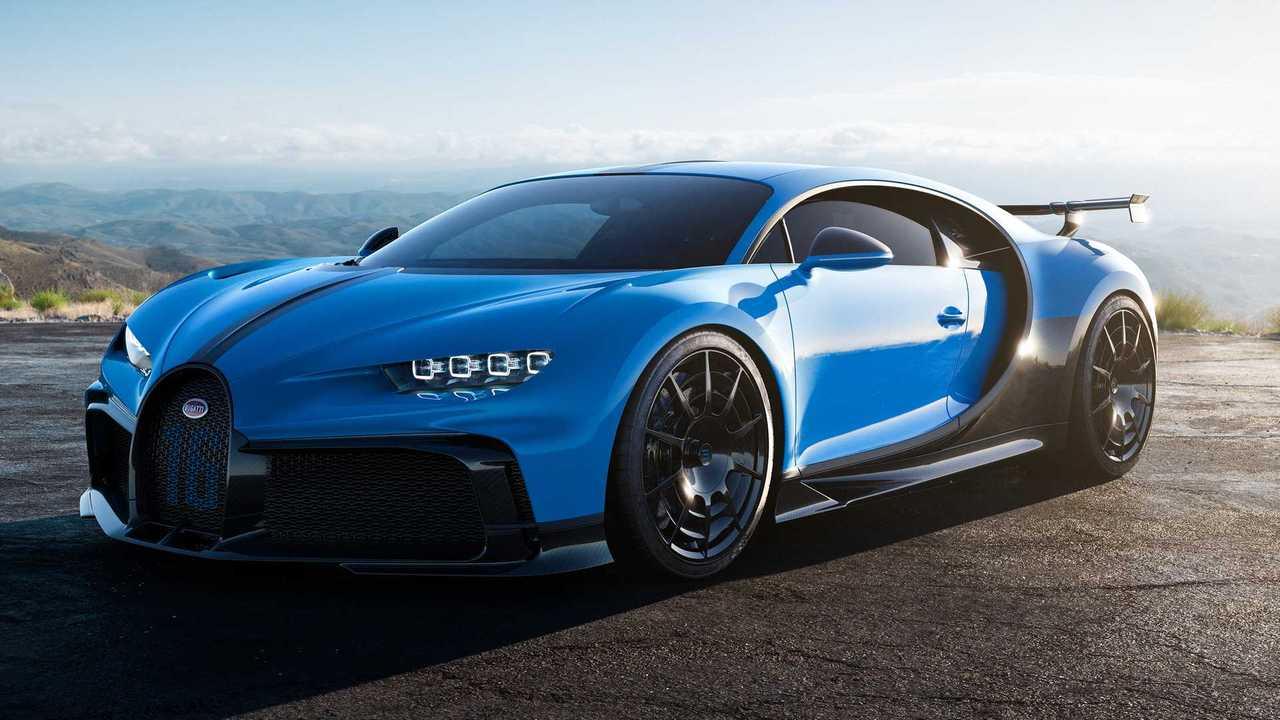 13. Bugatti Chiron Pur Sport