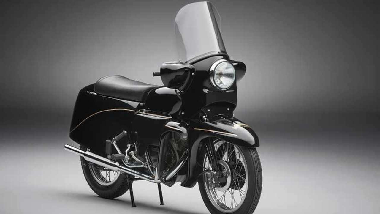 Ride A Legendary 1955 Vincent Black Prince