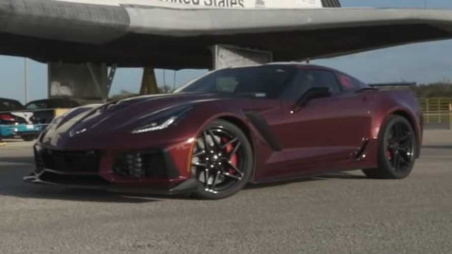 See Chevy Corvette ZR1 Hit 191 MPH In Standing Mile Test