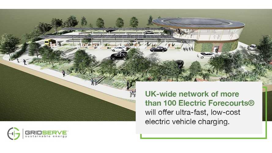 Electric Forecurt, la piazzola di sosta UK