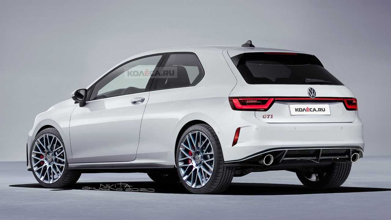 2021 Vw Golf Gti Rendered With Mk1 Retro Vibes