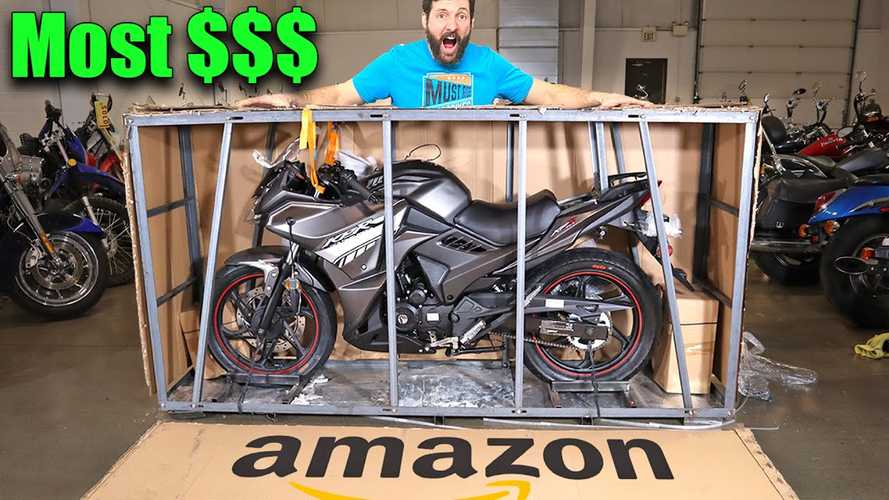 Watch This Guy Unbox The Most Expensive Bike Available On Amazon