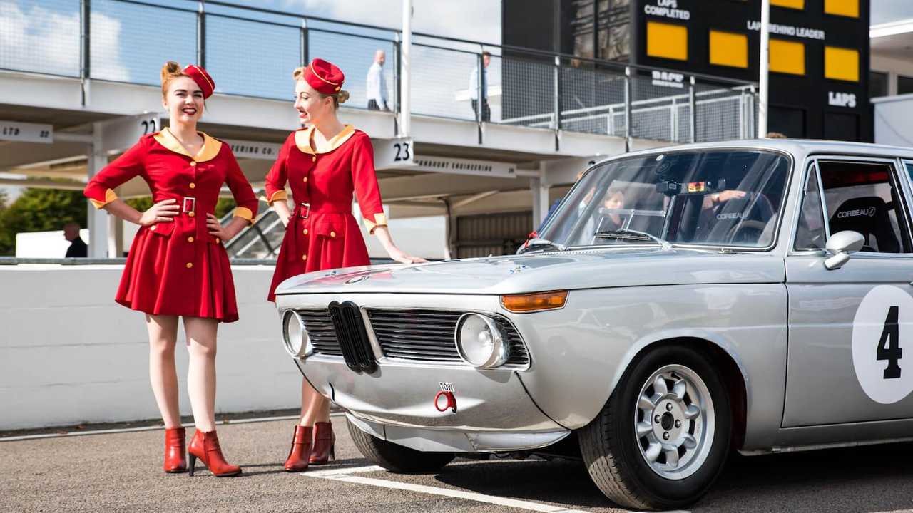Want to drive a historic race car on the Goodwood track? You can!