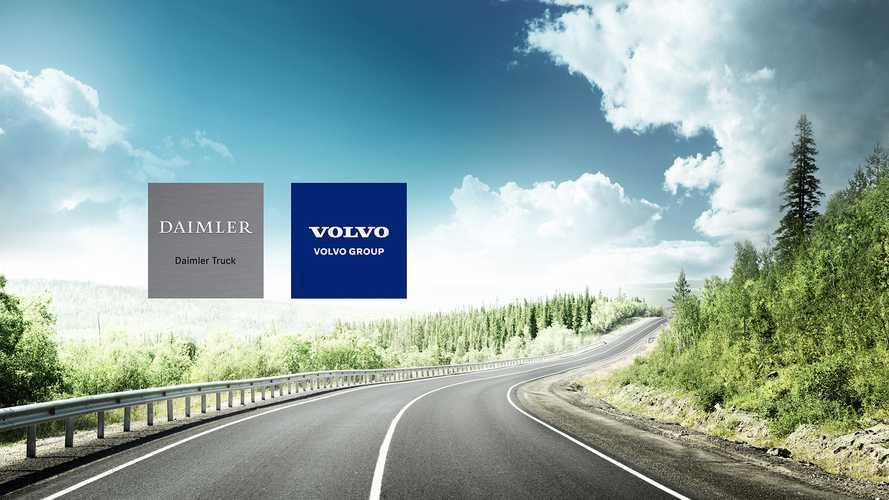 Daimer e Volvo si uniscono per i camion a idrogeno