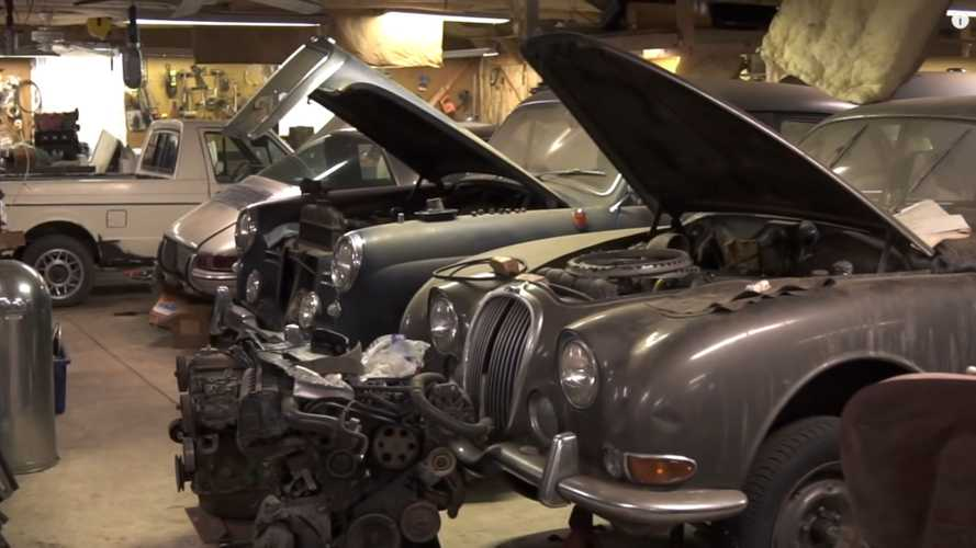 Watch An Epic Barn Find Of 45 Sports Car Unfold