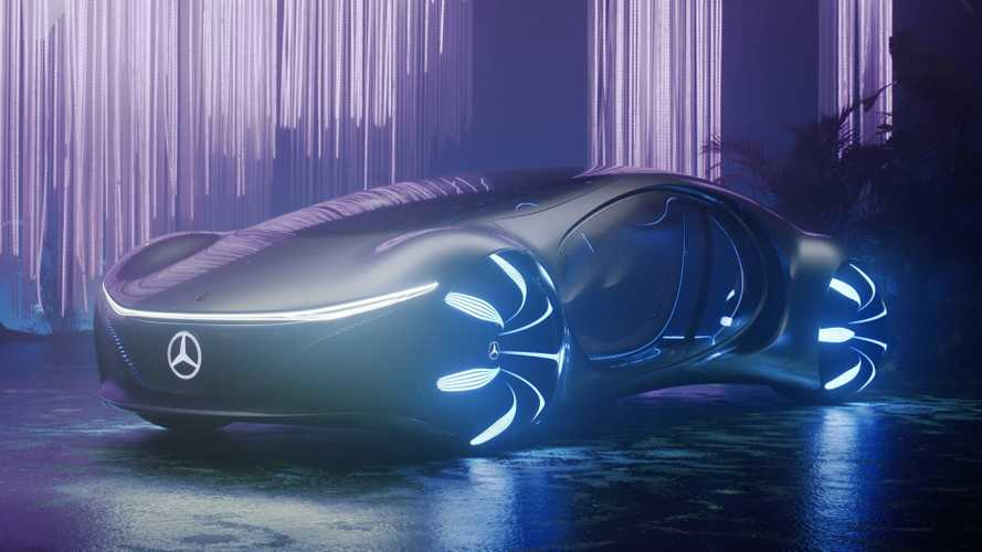 Концепт Mercedes-Benz Vision AVTR