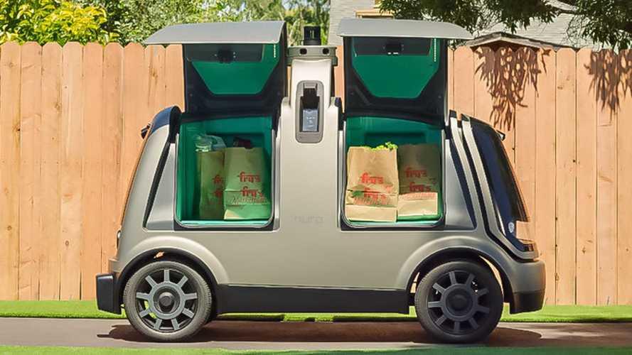 Nuro R2, la prima auto a guida autonoma è un furgone