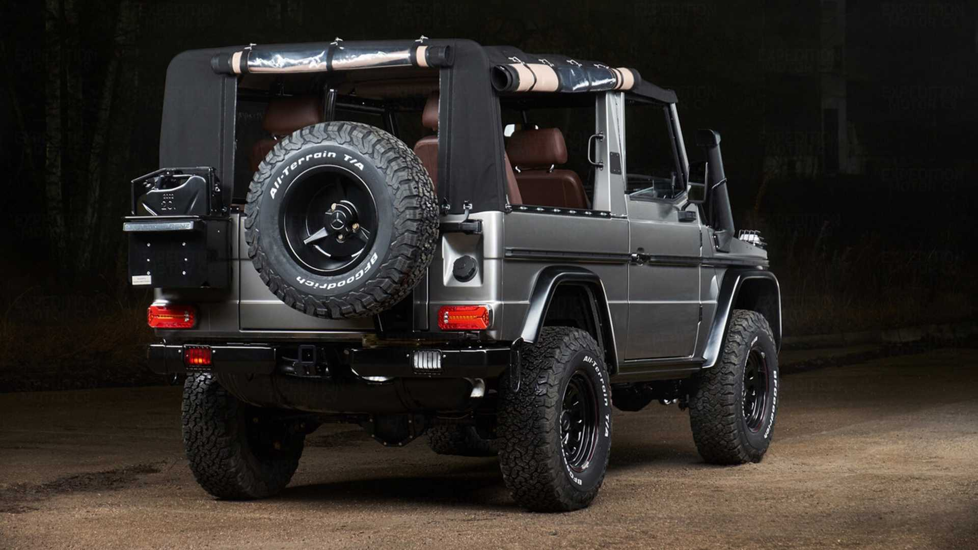 "[""Mil-Spec G-Wagen Transformed Into Bespoke Off-Roader""]"
