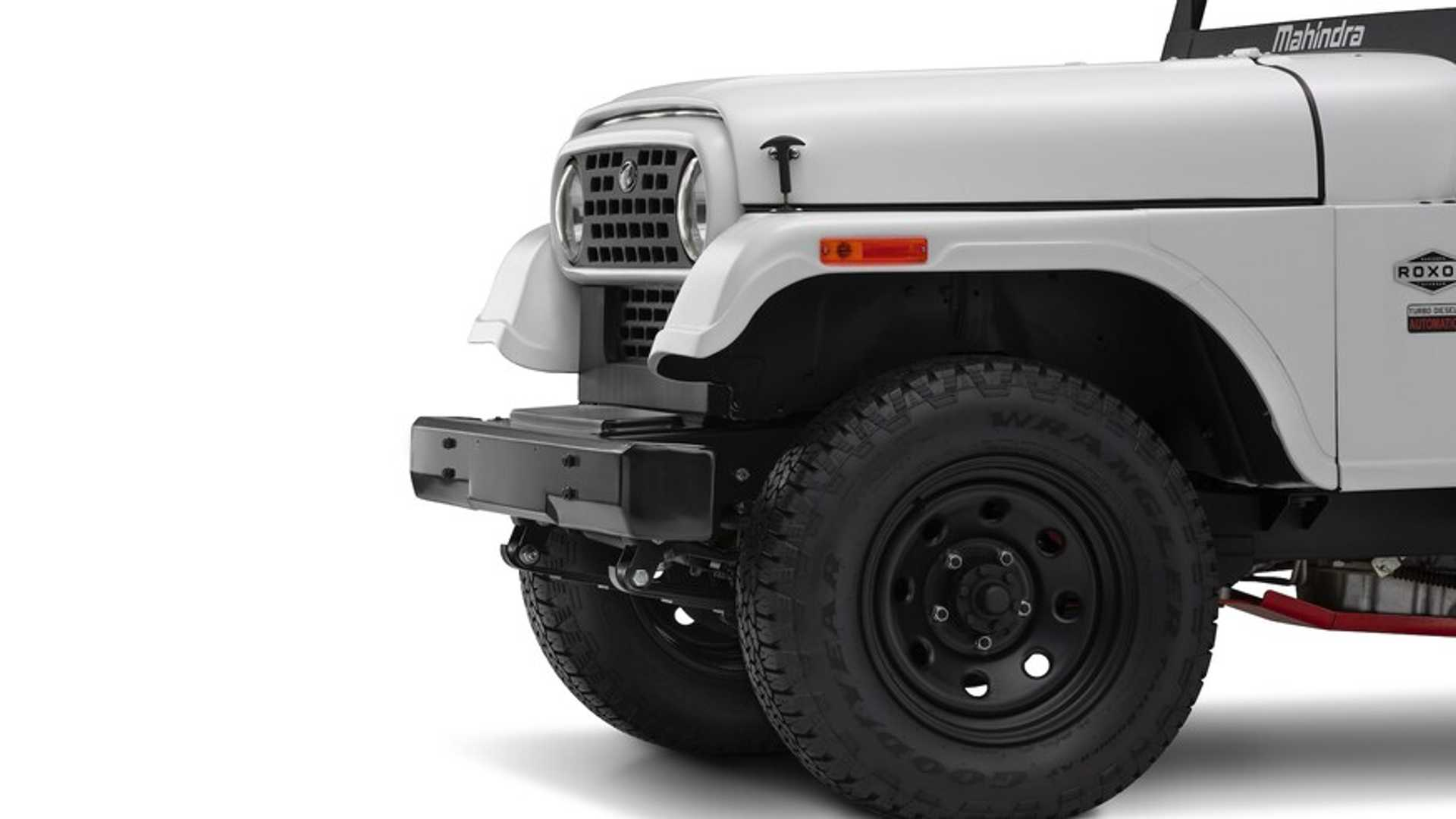 "[""2020 Mahindra Roxor Ditches Its Jeep Face""]"