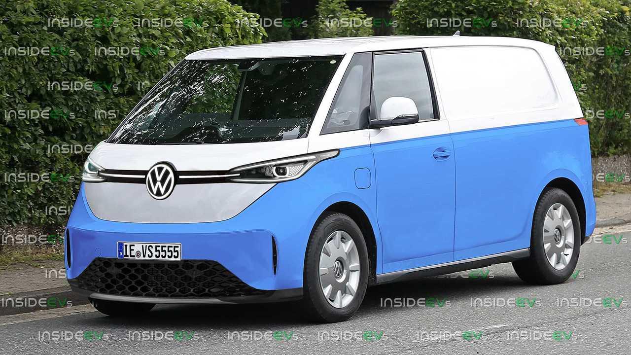 Volkswagen ID Buzz Production Rendering