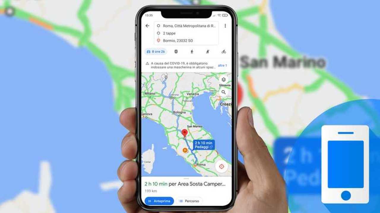 viaggi in auto nuove funzioni Google