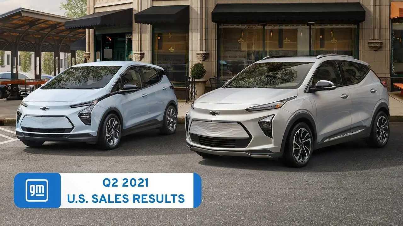 GM Chevrolet Bolt EV and EUV sales - U.S. Q2 2021