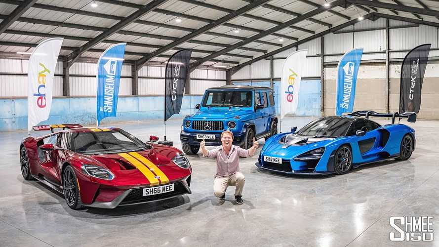 Shmee Debuts New Shmuseum With Ford GT, McLaren Senna Road Run