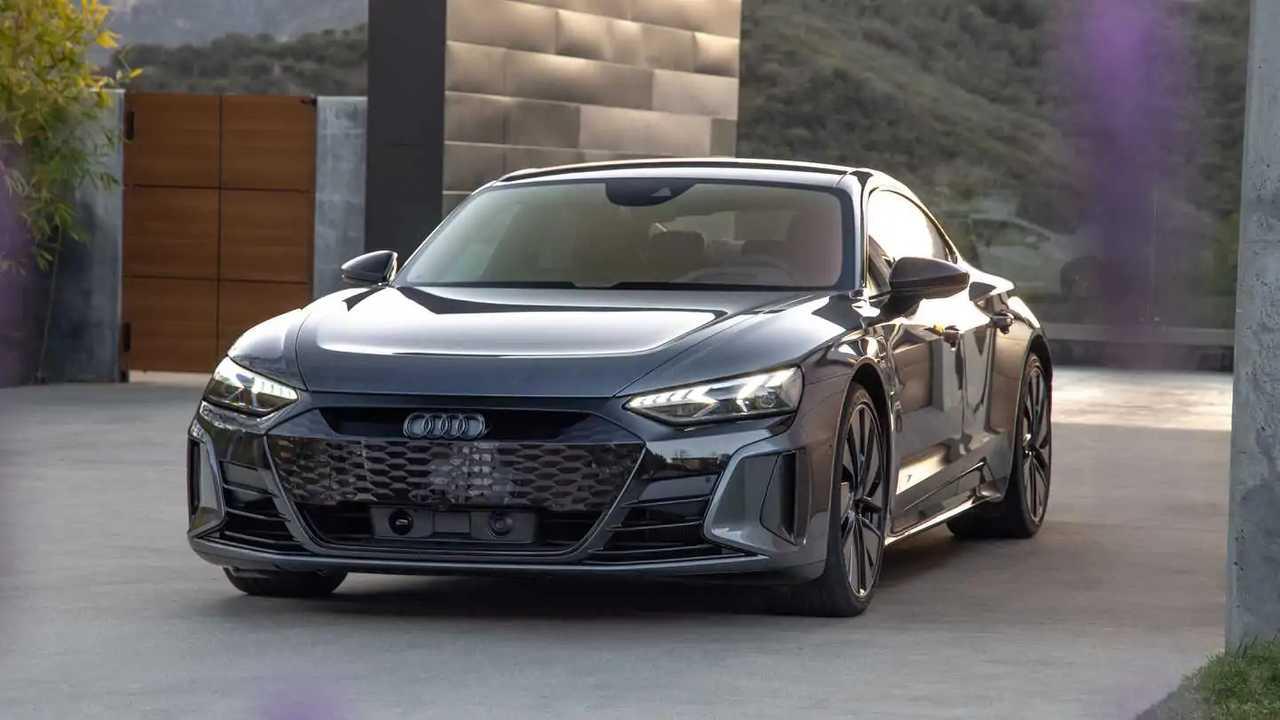 Audi RS E-Tron GT US Drive