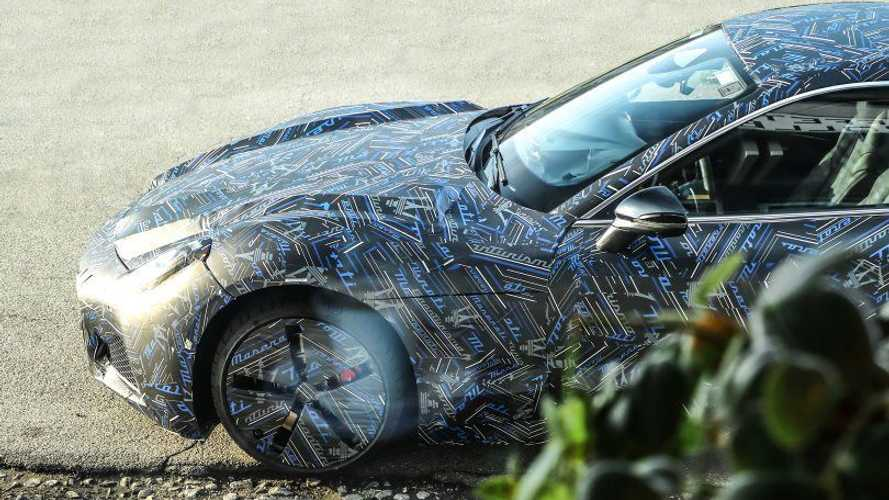 Maserati Teases Prototype Of The New GranTurismo