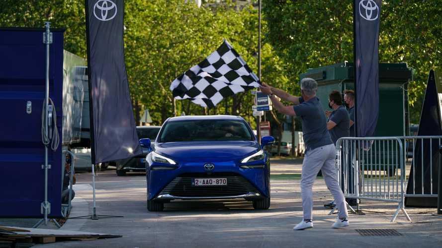 Toyota Mirai - 1000 km avec un plein, nouveau record du monde !