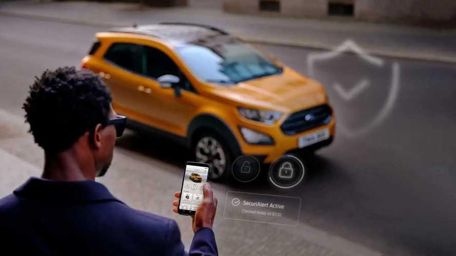 Allarme furto auto, l'app Ford ti avvisa sullo smartphone