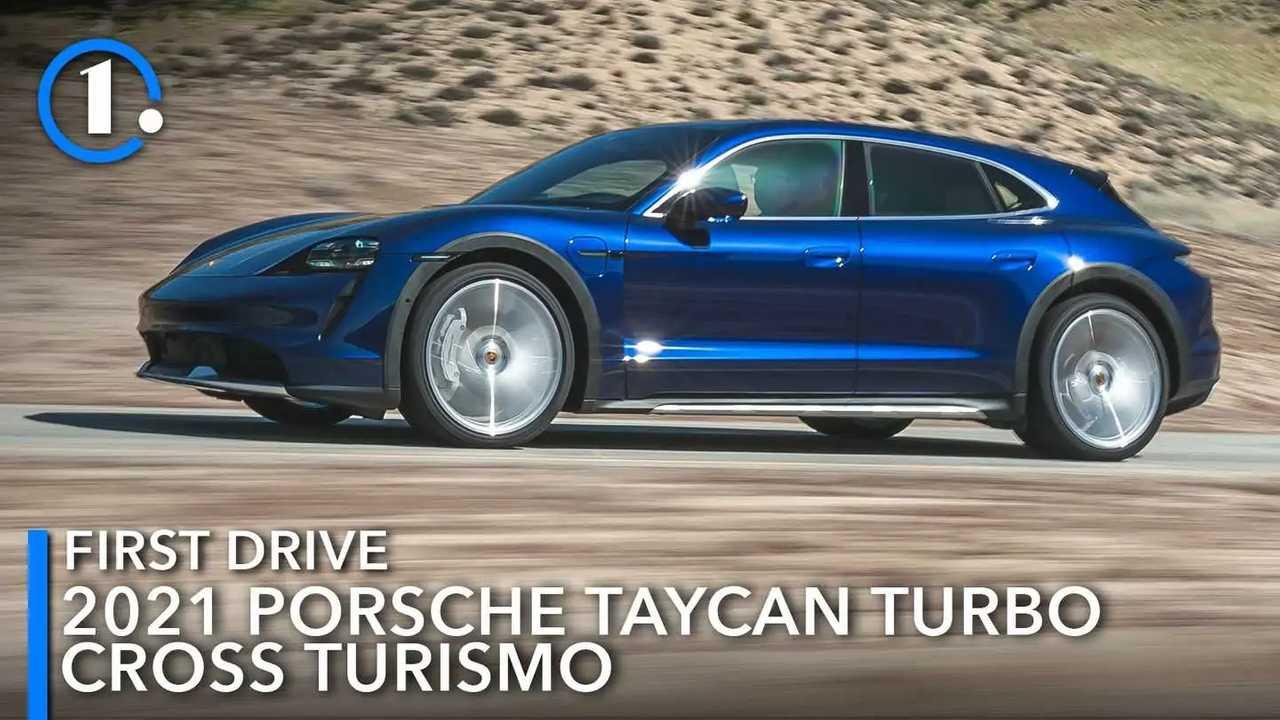 2021 Porsche Taycan Turbo Cross Turismo