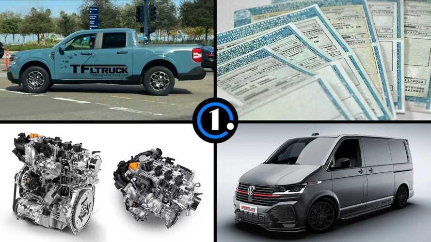 Semana Motor1.com: Maverick sem disfarces, novo Civic, Kombi GTI, picape bocão e mais