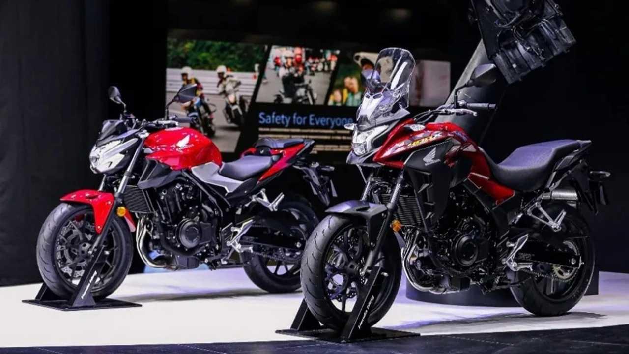 Honda CB400F And CB400X Unveiled At Shanghai Auto Show