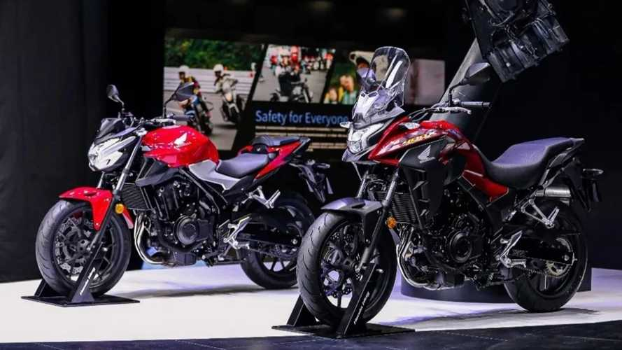 Honda CB400F And CB400X Unveiled At Shanghai Auto Show
