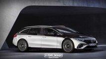 So schick würde der Mercedes EQS als T-Modell aussehen