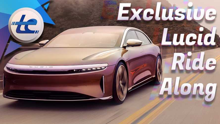 Lucid Air's First Ride Along Reveals More Than How It Drives