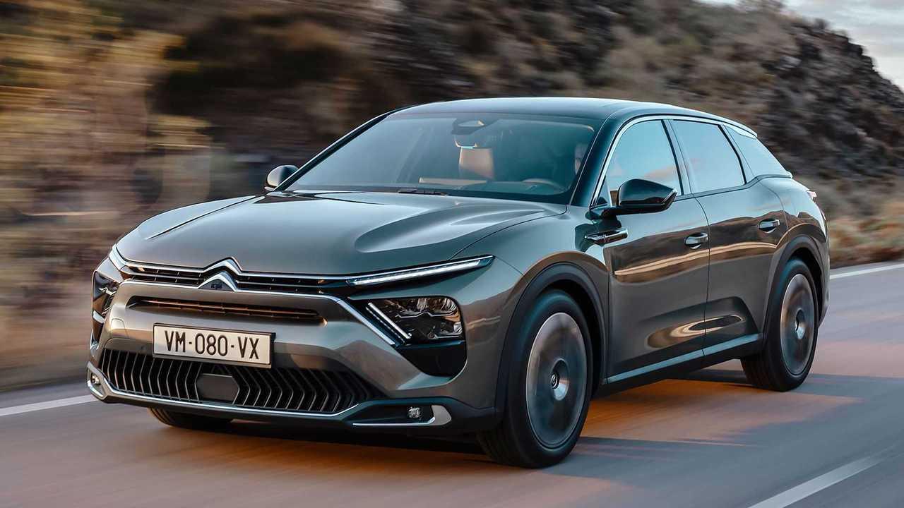 Presentación del Citroën C5 X 2021