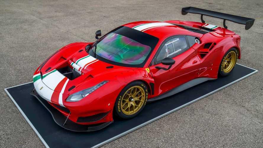 Ferrari 488 GT Modificata, Pirelli P Zero DHE lastiklerini kullanacak