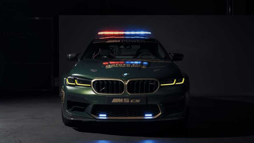 2021 BMW M3 Sedan, M4 Coupe, M5 CS MotoGP Safety Cars