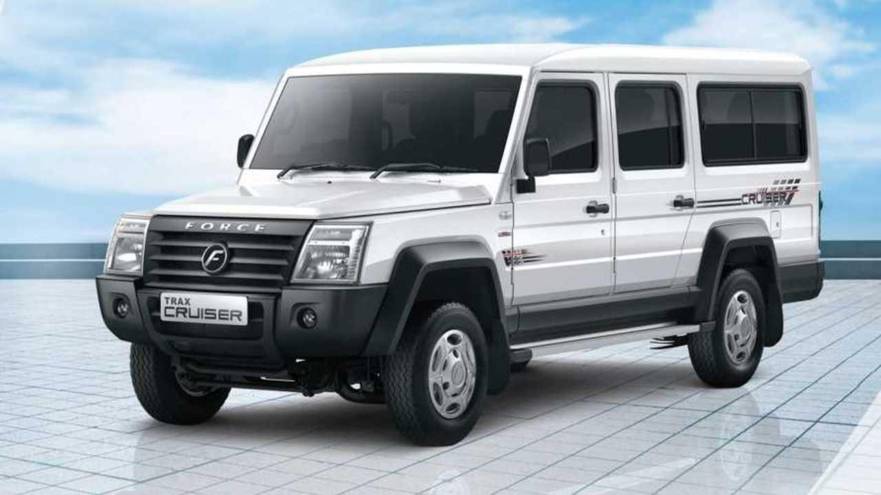 Inilah Force Motors Trax Cruisser dari India.