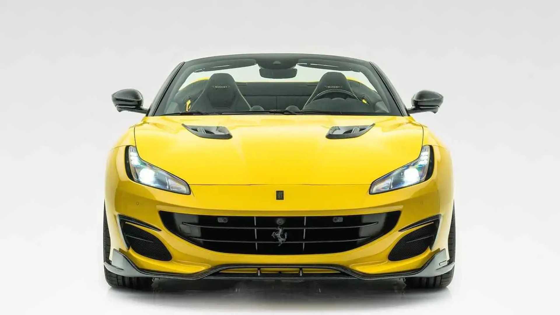 Mansory Shows The Ferrari Portofino Its Wild Side
