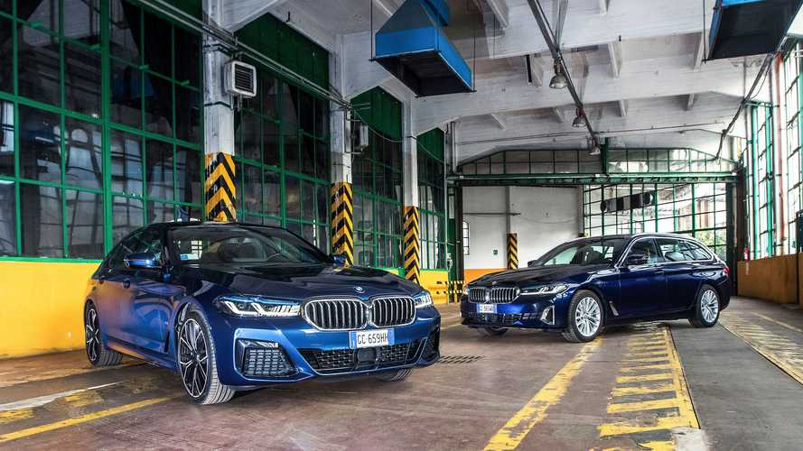 BMW 530e Plug-In contro 530d Touring