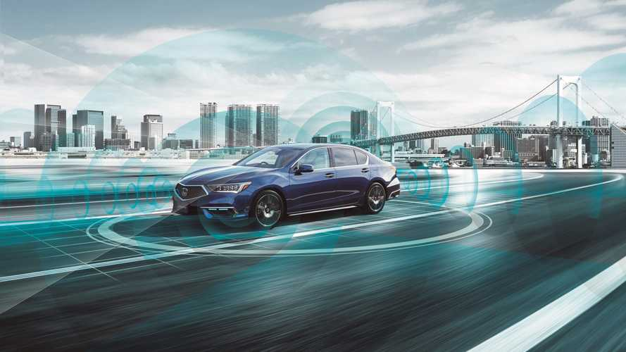 Honda Legend Hybrid EX Penuhi Syarat Mobil Otonom Level 3