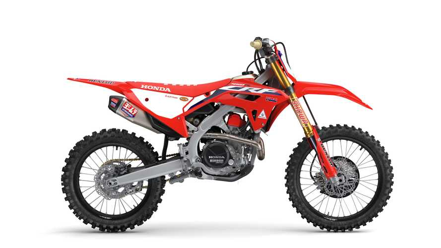 Honda Unveils 2022 CRF450 Dirt Bike Family